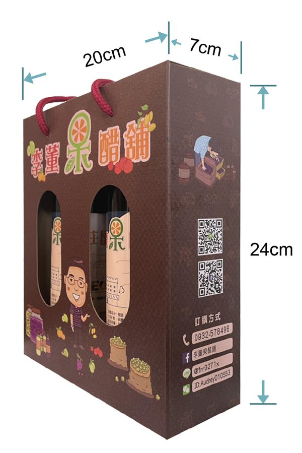 果醋禮盒,李董果醋莊園,純釀果醋